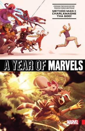 A YEAR OF MARVELS GRAPHIC NOVEL