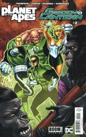 PLANET OF THE APES GREEN LANTERN #2