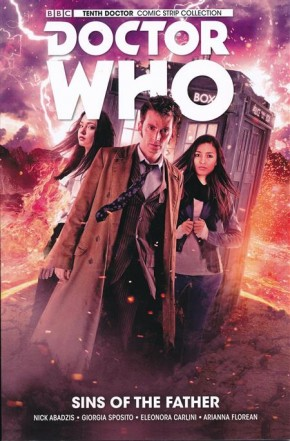 DOCTOR WHO 10TH DOCTOR VOLUME 6 SINS OF THE FATHER GRAPHIC NOVEL