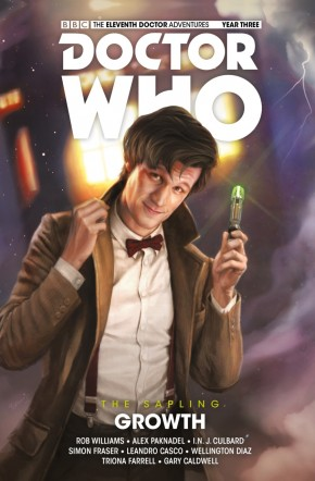 DOCTOR WHO 11TH DOCTOR THE SAPLING VOLUME 1 GROWTH HARDCOVER