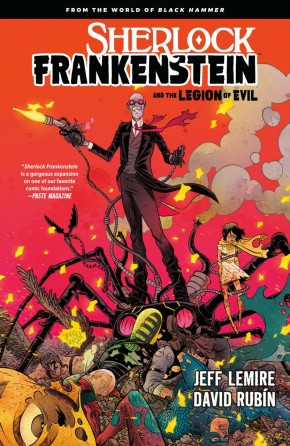 SHERLOCK FRANKENSTEIN LEGION OF EVIL FROM BLACK HAMMER GRAPHIC NOVEL