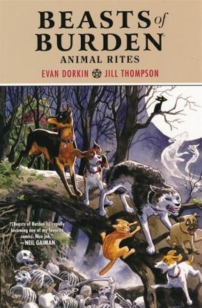 BEASTS OF BURDEN ANIMAL RITES GRAPHIC NOVEL