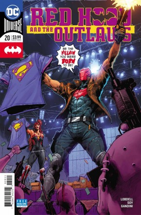 RED HOOD AND THE OUTLAWS #20 (2016 SERIES)