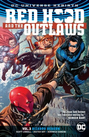 RED HOOD AND THE OUTLAWS VOLUME 3 BIZARRO REBORN GRAPHIC NOVEL