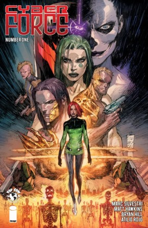 CYBER FORCE #1 (2018 SERIES)