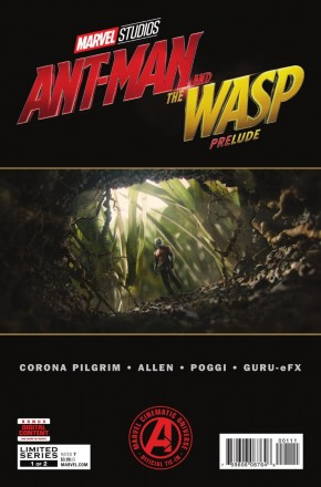 MARVELS ANT-MAN AND WASP PRELUDE #1