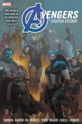 AVENGERS BY JONATHAN HICKMAN OMNIBUS VOLUME 2 HARDCOVER
