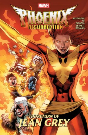 PHOENIX RESURRECTION THE RETURN OF JEAN GREY GRAPHIC NOVEL
