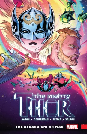 MIGHTY THOR VOLUME 3 ASGARD SHIAR WAR GRAPHIC NOVEL