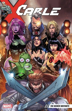 CABLE VOLUME 2 NEWER MUTANTS GRAPHIC NOVEL