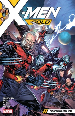 X-MEN GOLD VOLUME 4 NEGATIVE WAR ZONE GRAPHIC NOVEL