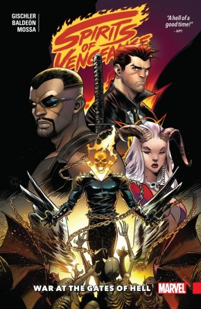 SPIRITS OF VENGEANCE WAR AT THE GATES OF HELL GRAPHIC NOVEL