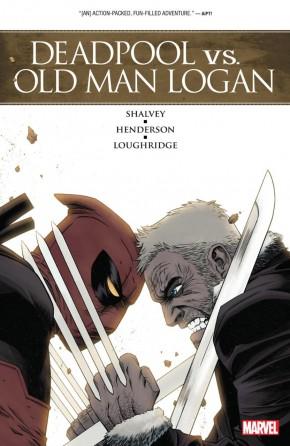 DEADPOOL VS OLD MAN LOGAN GRAPHIC NOVEL