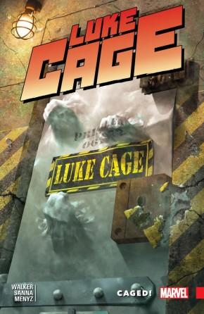 LUKE CAGE VOLUME 2 CAGED GRAPHIC NOVEL