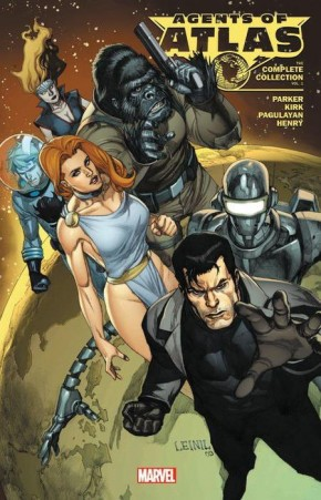 AGENTS OF ATLAS COMPLETE COLLECTION VOLUME 1 GRAPHIC NOVEL
