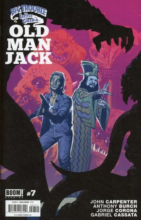 BIG TROUBLE IN LITTLE CHINA OLD MAN JACK #7
