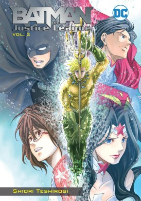 BATMAN AND THE JUSTICE LEAGUE MANGA VOLUME 2 GRAPHIC NOVEL