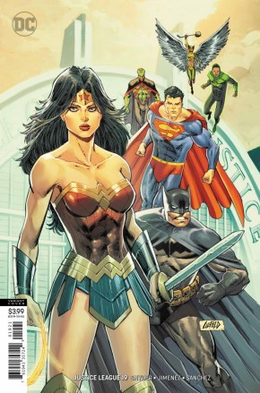 JUSTICE LEAGUE #19 (2018 SERIES) VARIANT