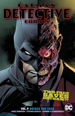 BATMAN DETECTIVE COMICS VOLUME 9 DEFACE THE FACE GRAPHIC NOVEL