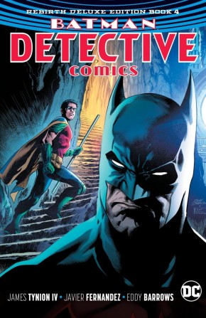 BATMAN DETECTIVE COMICS REBIRTH DELUXE COLLECTION BOOK 4 HARDCOVER