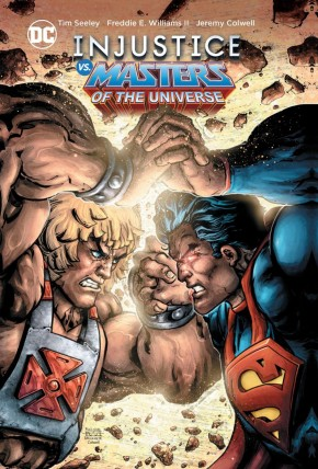 INJUSTICE VS MASTERS OF THE UNIVERSE HARDCOVER