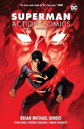 SUPERMAN ACTION COMICS VOLUME 1 INVISIBLE MAFIA HARDCOVER