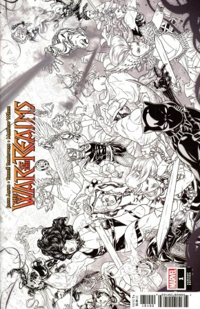 WAR OF THE REALMS #1 DAUTERMAN CONCEPT 1 IN 10 INCENTIVE VARIANT