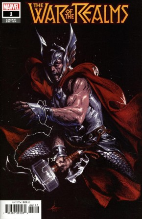 WAR OF THE REALMS #1 DELLOTTO  1 IN 10 INCENTIVE VARIANT
