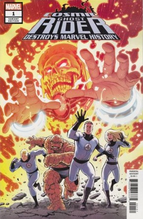 COSMIC GHOST RIDER DESTROYS MARVEL HISTORY #1 PACHECO 1 IN 10 INCENTIVE VARIANT
