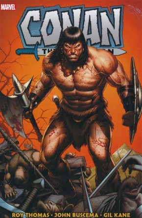 CONAN THE BARBARIAN THE ORIGINAL MARVEL YEARS OMNIBUS VOLUME 2 HARDCOVER