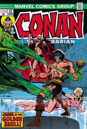 CONAN THE BARBARIAN THE ORIGINAL MARVEL YEARS OMNIBUS VOLUME 2 DM VARIANT HARDCOVER