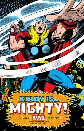 KIRBY IS MIGHTY KING SIZE HARDCOVER