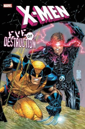 X-MEN EVE OF DESTRUCTION HARDCOVER