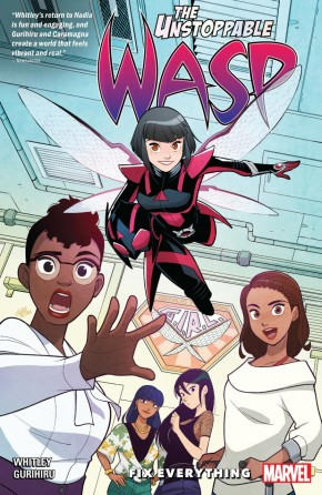 UNSTOPPABLE WASP UNLIMITED VOLUME 1 FIX EVERYTHING GRAPHIC NOVEL