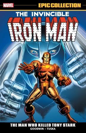 IRON MAN EPIC COLLECTION THE MAN WHO KILLED TONY STARK GRAPHIC NOVEL
