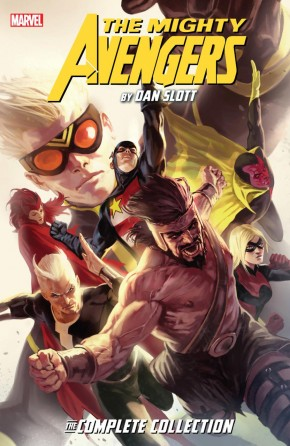 MIGHTY AVENGERS BY DAN SLOTT THE COMPLETE COLLECTION GRAPHIC NOVEL