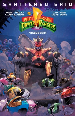 MIGHTY MORPHIN POWER RANGERS VOLUME 8 GRAPHIC NOVEL