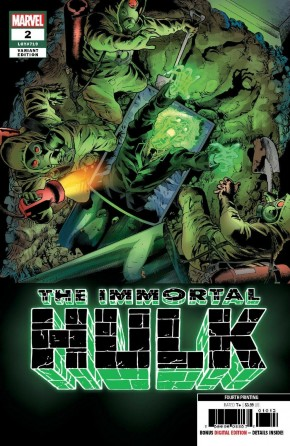 IMMORTAL HULK #2 (2018 SERIES) 4TH PRINTING