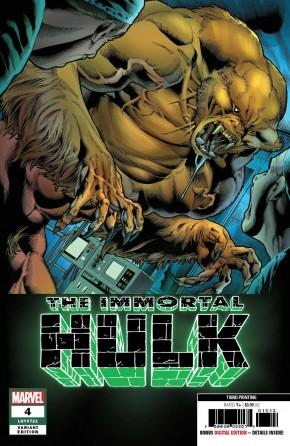 IMMORTAL HULK #4 (2018 SERIES) 3RD PRINTING