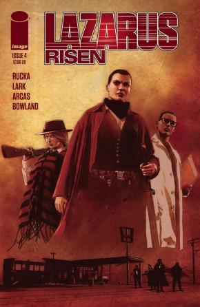 LAZARUS RISEN #4