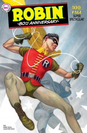 ROBIN 80TH ANNIVERSARY 100 PAGE SUPER SPECTACULAR #1 1950S JT TEDESCO VARIANT