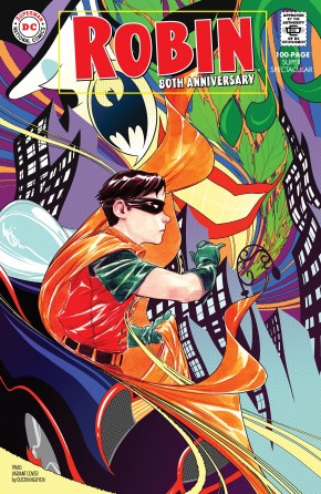 ROBIN 80TH ANNIVERSARY 100 PAGE SUPER SPECTACULAR #1 1960S DUSTIN NGUYEN VARIANT