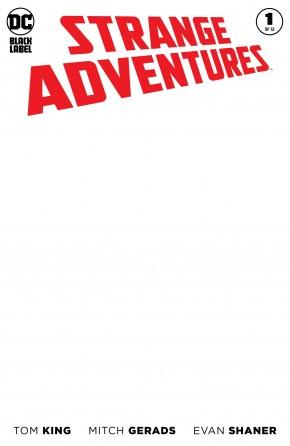 STRANGE ADVENTURES #1 (2020 SERIES) BLANK VARIANT