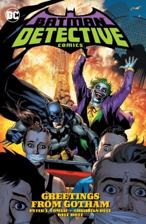 BATMAN DETECTIVE COMICS VOLUME 3 GREETINGS FROM GOTHAM HARDCOVER