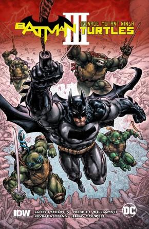 BATMAN TEENAGE MUTANT NINJA TURTLES III GRAPHIC NOVEL