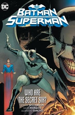 BATMAN SUPERMAN VOLUME 1 WHO ARE THE SECRET SIX HARDCOVER