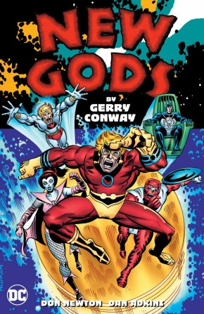 NEW GODS BY GERRY CONWAY HARDCOVER