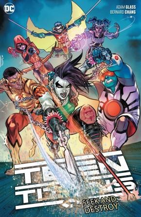 TEEN TITANS VOLUME 3 SEEK AND DESTROY GRAPHIC NOVEL