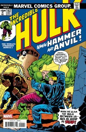 INCREDIBLE HULK #182 (1962 SERIES) FACSIMILE EDITION