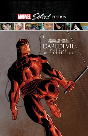 DAREDEVIL THE MAN WITHOUT FEAR MARVEL SELECT HARDCOVER